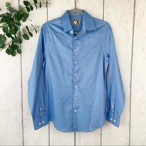 Express 1MX Fitted Button Down Shirt